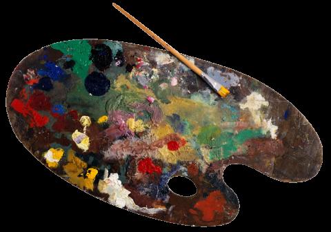 Paint Palette PNG