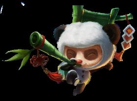 Panda Teemo Skin PNG