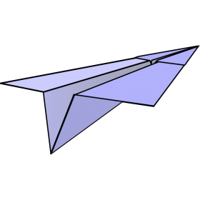 Paper Plane PNG