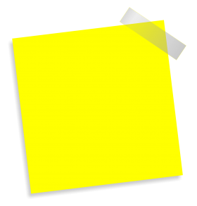 Paste Note PNG