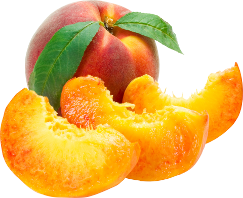 Peach Cut PNG