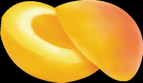 Peach Cut PNG