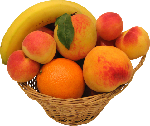 Peaches Oranges and Bananas PNG