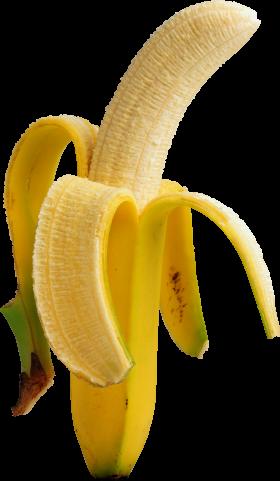Pealed Banana PNG