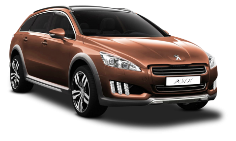 Peugeot 508 RXH Brown Car PNG