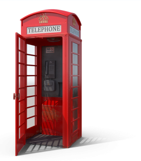 Phone Booth PNG