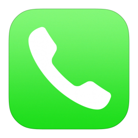 Phone Icon iOS 7 PNG