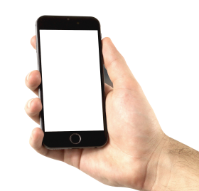 Phone In Hand PNG