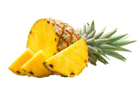 Pineapple Pieces PNG