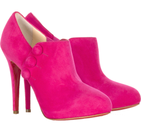 Pink Women Boot PNG