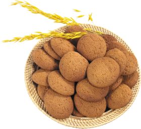 Plate of Biscuits PNG