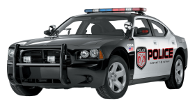 Police Car PNG