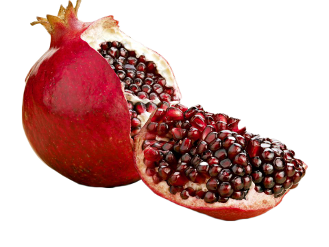 Pomegranate Halved PNG