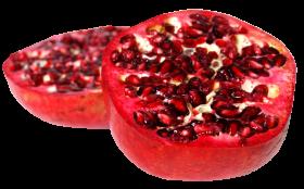 Pomegranate Sliced PNG