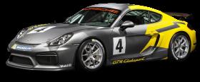 Porsche Cayman GT4 Clubsport Racing Car PNG