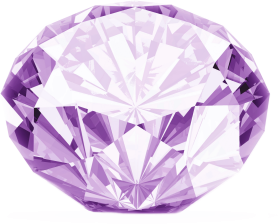 Purple Diamond PNG