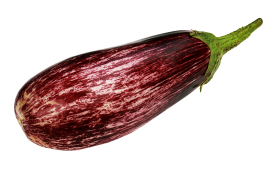 Purple Eggplant PNG