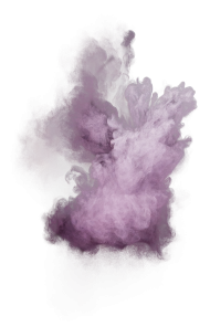 Purple Powder Explosion PNG