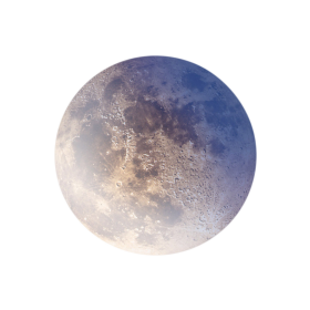 Realistic Moon PNG