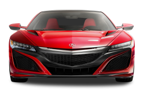 Red Acura NSX Car PNG