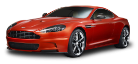 Red Aston Martin DBS Carbon Car PNG