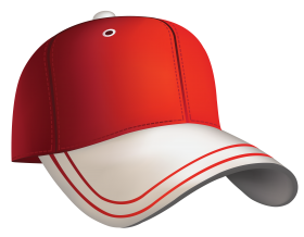 Red Baseball Cap Clipart PNG