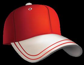 Red Baseball Cap Clipart PNG