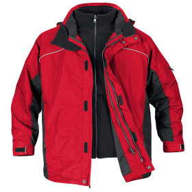 Red Black Jacket PNG