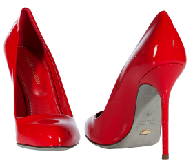 Red Casual Women Shoe PNG