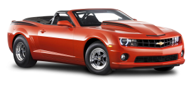 Red Chevrolet Camaro Car PNG