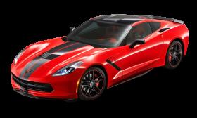 Red Chevrolet Corvette Concept Car PNG