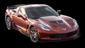 Red Chevrolet Corvette Z06 Spice Car PNG