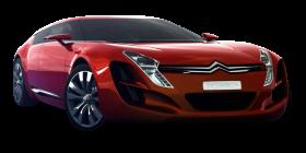 Red Citroen C Metisse Car PNG