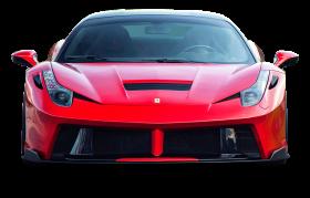Red Ferrari 458 Italia Sports Car PNG