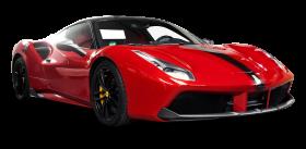 Red Ferrari 488 GTB Car PNG