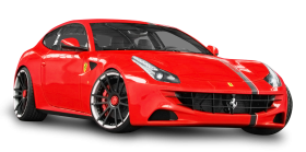 Red Ferrari Car PNG