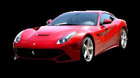 Red Ferrari F12 Berlinetta Car PNG