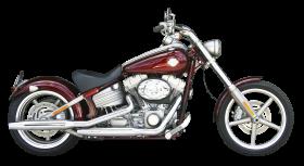 Red Harley Davidson PNG