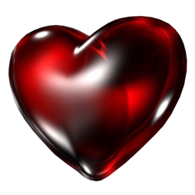 Red Heart PNG