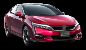 Red Honda Clarity Car PNG