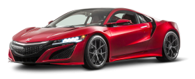 Red Honda NSX Car PNG
