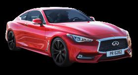 Red Infiniti Q60 Car PNG