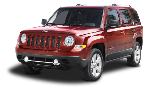 Red Jeep Patriot SUV Car PNG