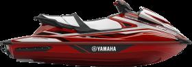 Red Jet Ski PNG