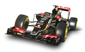 Red Lotus E23 F1 Car PNG