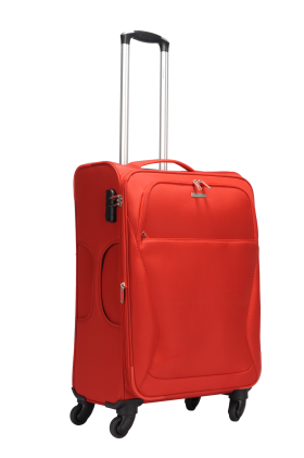 Red Luggage PNG