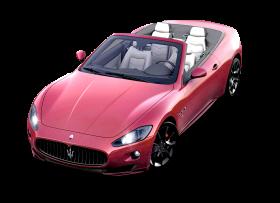 Red Maserati GranCarbio Sport Car PNG