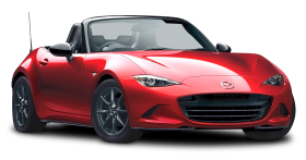 Red Mazda MX 5 Miata Car PNG