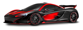 Red Mclaren P1 Special Operations Car PNG