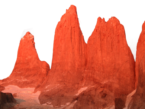 Red Mountains PNG